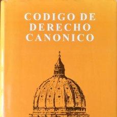 Libros: CÓDIGO DE DERECHO CANÓNICO. NUEVO. REF: AX138. Lote 171399880