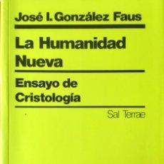 Libros: LA HUMANIDAD NUEVA. NUEVO REF: AX147. Lote 171406218