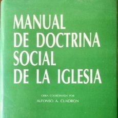 Libros: MANUAL DE DOCTRINA SOCIAL DE LA IGLÉSIA. NUEVO REF: AX150. Lote 171443934