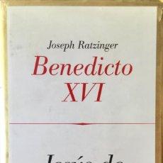 Libros: JEÚS DE NAZARET. JOSEP RATZINGER. NUEVO REF: AX160. Lote 171582808