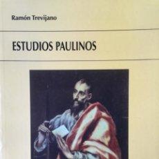 Libros: ESTUDIOS PAULINOS. NUEVO. REF: AX162. Lote 171583233