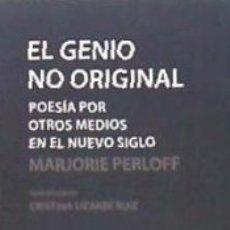 Libros: EL GENIO NO ORIGINAL. Lote 173566484