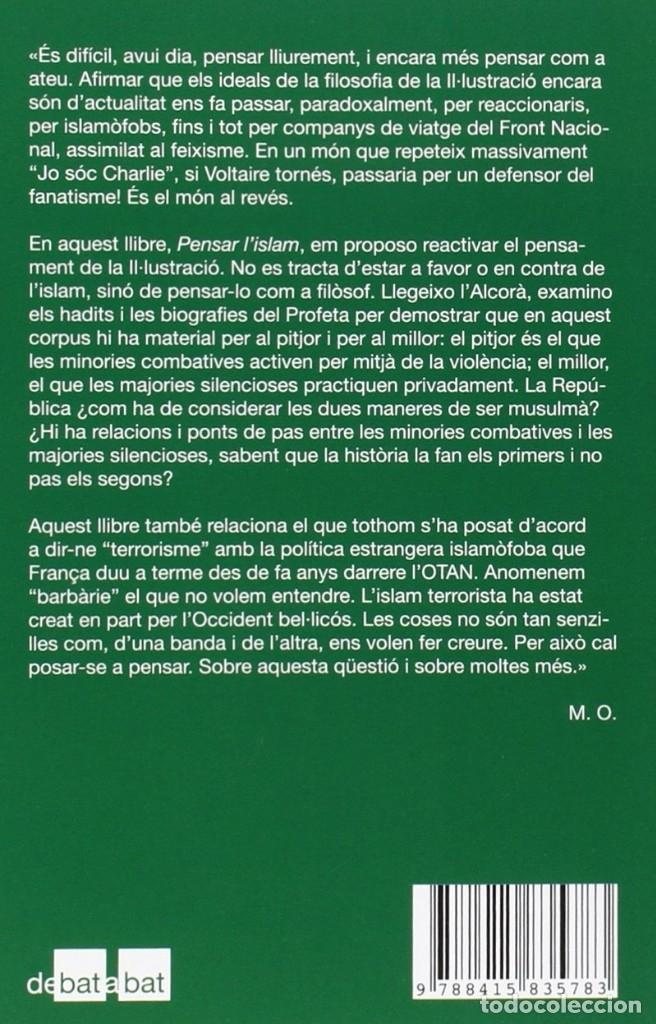 Libros: Pensar l'islam (2016) - Michel Onfray - ISBN: 9788415835783 - Foto 2 - 174896754