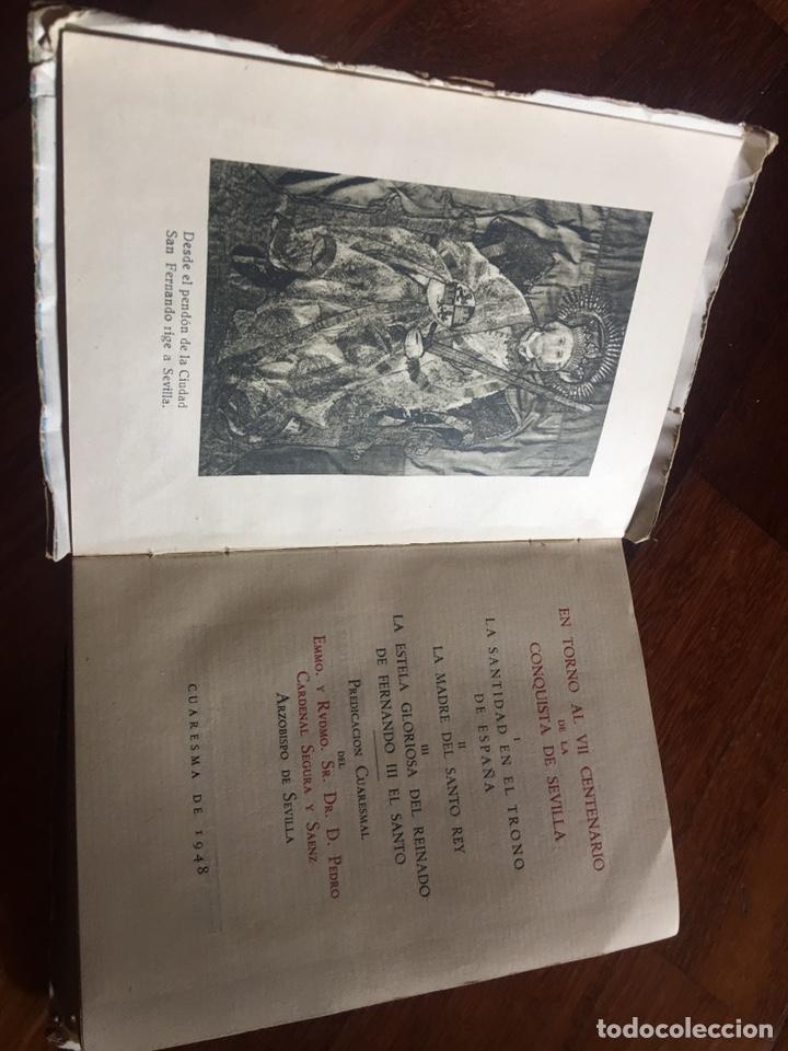 EN TORNO AL VII CENTENARIO DE LA CONQUISTA DE SEVILLA - CUARESMA DE 1948 (Libros Nuevos - Humanidades - Religión)