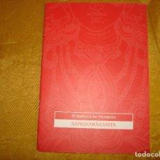Libros: EL BUDISMO EN OCCIDENTE. SANGHARAKSHITA. . FUNDACION TRES JOYAS, 1993. Lote 176844539