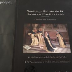 Libros: LIBROS DE LA SANTAS Y BEATAS , DOMINICAS, DE LA ORDEN DE PREDICADORES. Lote 178345107