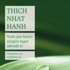 Libros: NADA QUE HACER, NINGÚN LUGAR ADONDE IR. Lote 178448377