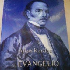 Libros: EL EVANGELIO SEGÚN EL ESPIRITISMO.. Lote 178845612