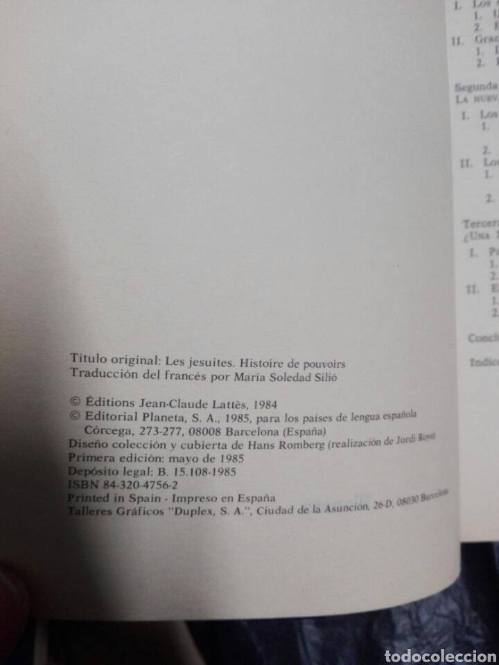 Libros: LOS JESUITAS, HISTORIA DE UN DRAMÁTICO CONFLICTO - Foto 3 - 178957936