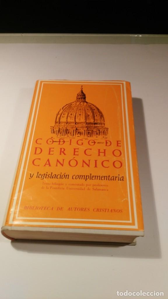 DERECHO CANÓNICO POSCONCILIAR. SUPLEMENTO AL CÓDIGO DE DERECHO CANÓNICO BILINGÜE DE LA BAC (Libros Nuevos - Humanidades - Religión)