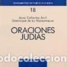 Libros: ORACIONES JUDÍAS. Lote 179187676