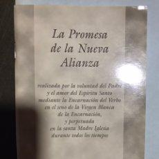 Libros: LA PROMESA DE LA NUEVA ALIANZA. Lote 182706407