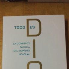 Libros: TODO ES DIOS. Lote 184357075