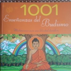 Libros: 1001 ENSEÑANZAS DEL BUDISMO. Lote 185684247