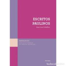 Libros: ESCRITOS PAULINOS (JUAN LUIS CABALLERO) EUNSA 2016. Lote 187364777