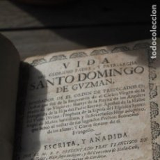 Libros: VIDA DE SANTO DOMINGO DE GUZMAN, BARCELONA 1749, COMPLETO.. Lote 188748632