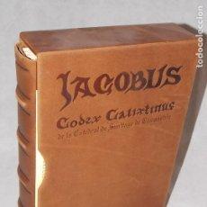 Libros: FACSIMIL LIBRO CODEX CALIXTINUS JACOBUS - RELIGION - SERIE LIMITADA. Lote 189120461