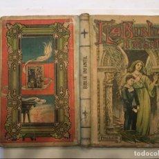 Libros: LIBRO ANTIGUO LA BIBLIA INFANTIL DE 1918 DE M.R.P.RAMON BULDU. Lote 191482151