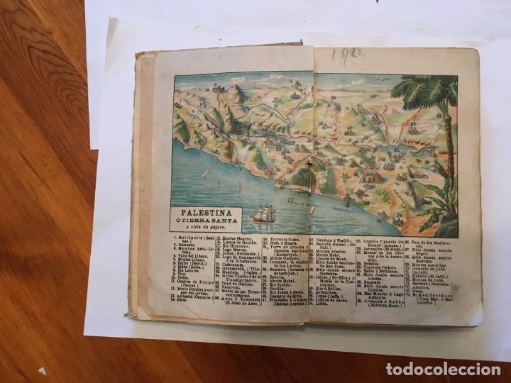Libros: libro antiguo la biblia infantil de 1918 de M.R.P.RAMON BULDU - Foto 3 - 191482151