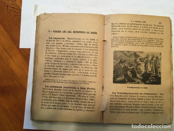 Libros: libro antiguo la biblia infantil de 1918 de M.R.P.RAMON BULDU - Foto 4 - 191482151