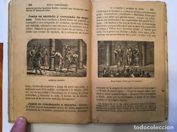 Libros: libro antiguo la biblia infantil de 1918 de M.R.P.RAMON BULDU - Foto 5 - 191482151