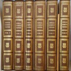 Livres: BIBLIA COMPLUTENSE MUY ESCASA Y DIFÍCIL DE ENCONTRAR. Lote 191651798