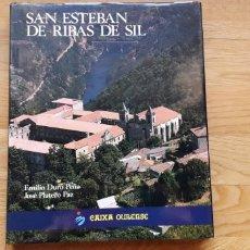 Libri: SAN ESTEBAN DE RIBAS DE SIL, EMILIO DURO PEÑA, JOSÉ PLATERO PAZ,. Lote 192183785