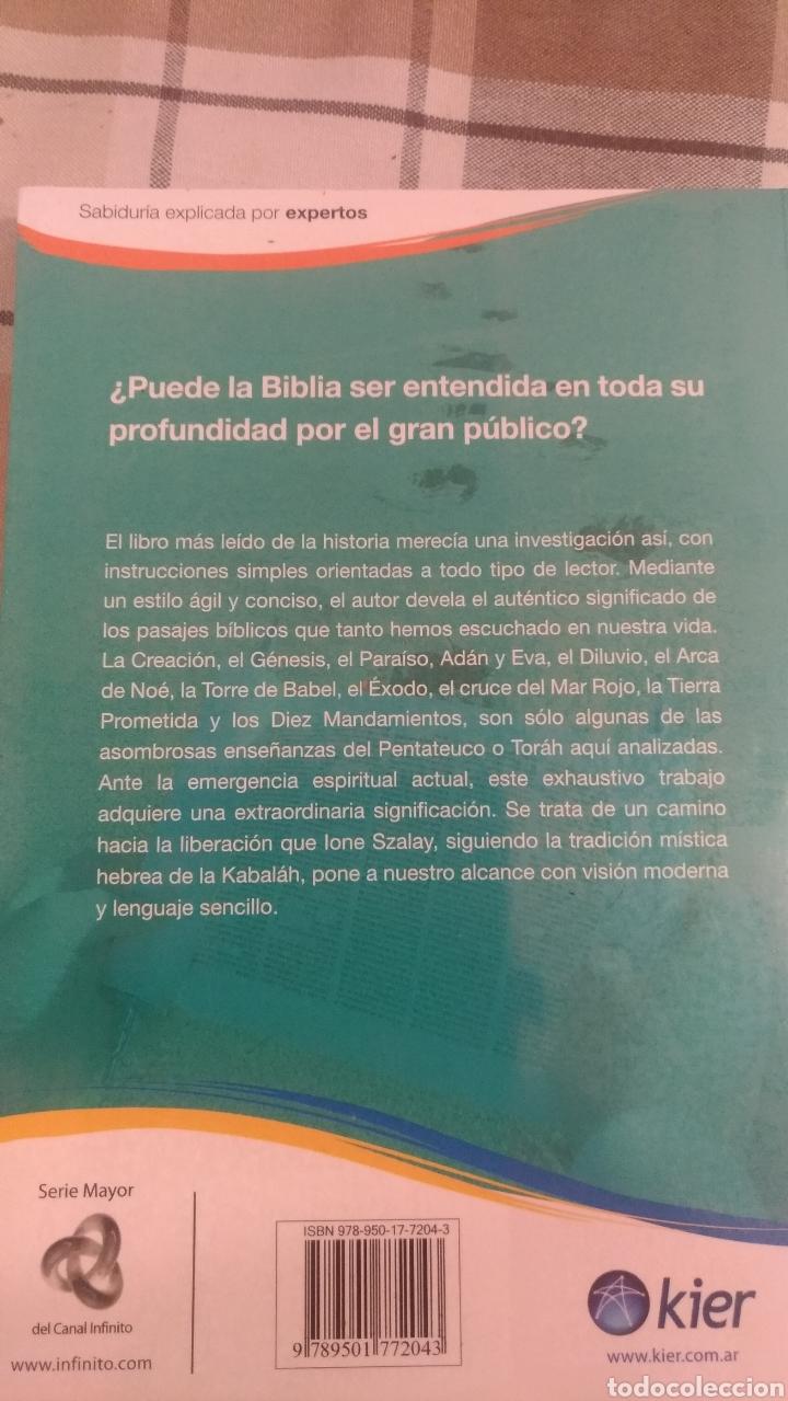 Libros: BIBLIA REVELADA, POR IONE SZALAY - EDITORIAL KIER - ARGENTINA - Foto 2 - 193081405