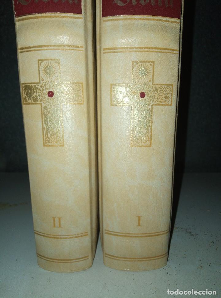 Libros: LA BIBLIA DE JERUSALEN COMPLETA 2 TOMOS ILUSTRADA POR GUSTAVO DORÈ EDICION DE LUJO. - Foto 4 - 193733326