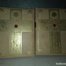 Libros: LA BIBLIA DE JERUSALEN COMPLETA 2 TOMOS ILUSTRADA POR GUSTAVO DORÈ EDICION DE LUJO.. Lote 193733326