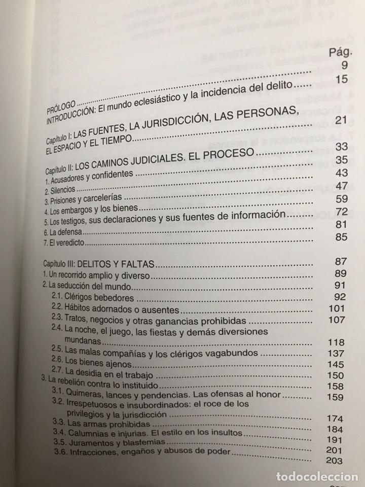 """Libros: LIBRO. SEVILLA. """"LOS DELITOS Y LAS PENAS EN EL MUNDO ECLESIÁSTICO SEVILLANO DEL XVIII"""" - Foto 4 - 193973828"""
