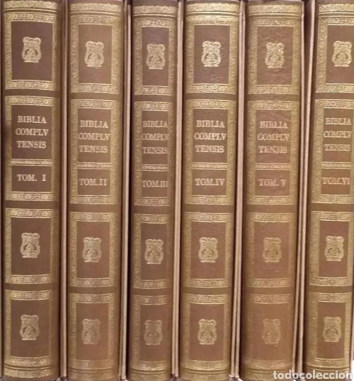 BIBLIA POLIGLOTA COMPLUTENSE FACSIMIL ALCALÁ DE HENARES IMPRENTA BROCAR UNIVERSIDAD DE ALCALÁ (Libros Nuevos - Humanidades - Religión)