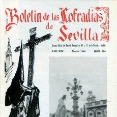 Libri: BOLETIN DE LAS COFRADIAS DE SEVILLA Nº 294 MARZO 1984. Lote 194991820