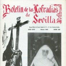 Libri: BOLETIN DE LAS COFRADIAS DE SEVILLA Nº 306 MARZO 1985. Lote 194992392