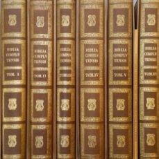 Libros: BIBLIA POLIGOTA COMPLUTENSE CON ANEXO INCLUIDO DIFÍCIL DE ENCONTRAR (NUEVA). Lote 195433705