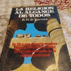 Libros: LA RELIGIÓN AL ALCANCE DE TODOS. Lote 195646168