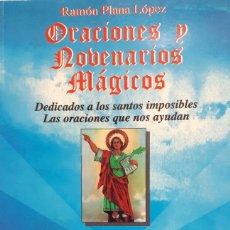 Libros: ORACIONES Y NOBENARIOS MÁGICPS. Lote 199765567