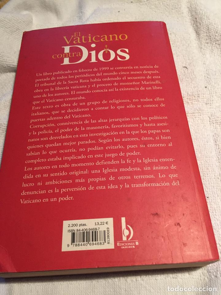 Libros: El Vaticano contra dios - Foto 2 - 202023455