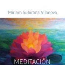 Libros: MEDITACIÓN CONTEMPLATIVA. Lote 205694145