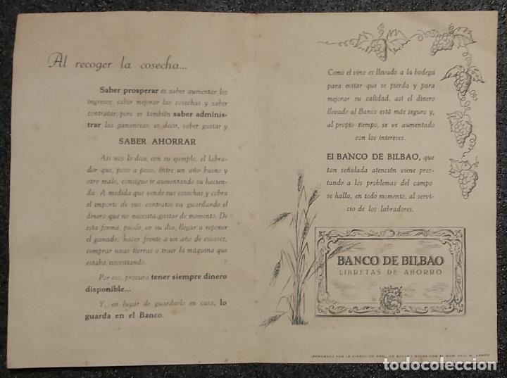 Libros: Calendario Banco de Bilbao. Años 1949 y 1950. No Fournier. - Foto 3 - 209727451
