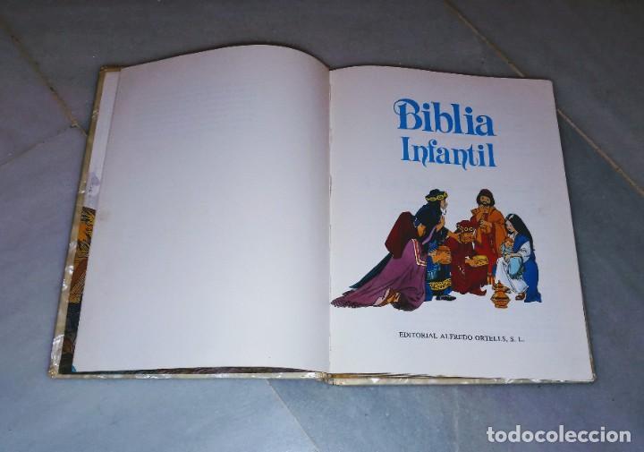 Libros: Biblia infantil 1989 - Foto 3 - 210153410