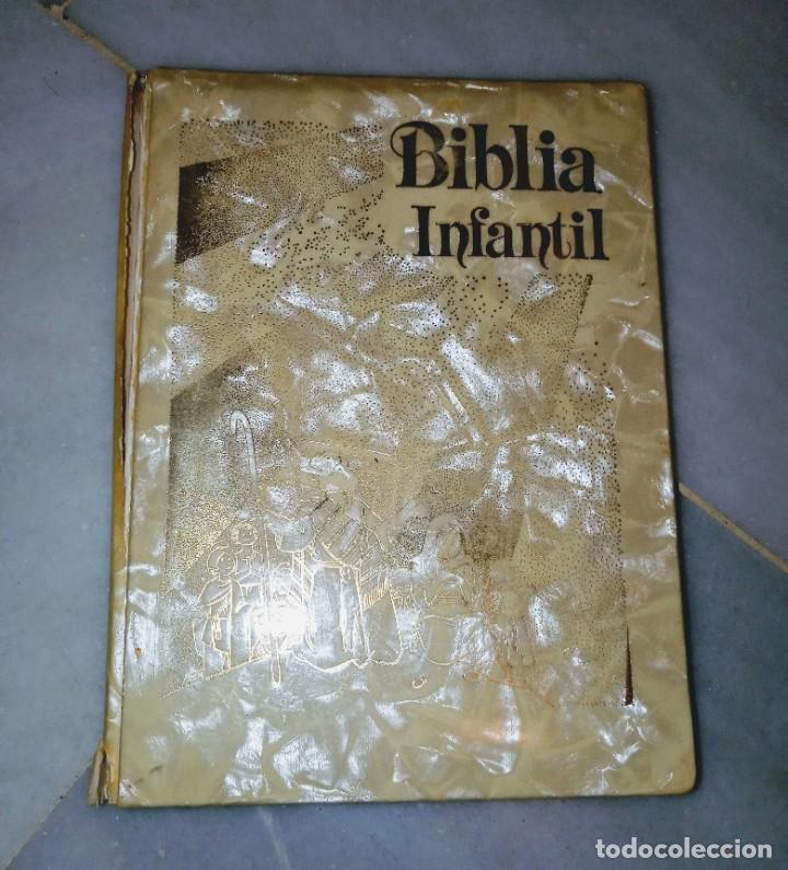 Libros: Biblia infantil 1989 - Foto 5 - 210153410