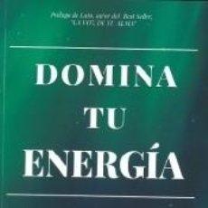 Libros: DOMINA TU ENERGÍA. Lote 211389526