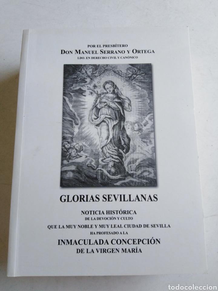 LIBRO GLORIAS SEVILLANAS ( 2004 ) (Libros Nuevos - Humanidades - Religión)