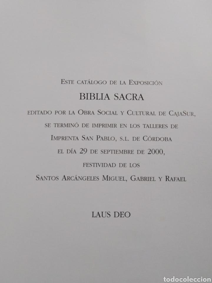 Libros: Biblia sacra ( caja Sur publicaciones ) - Foto 6 - 212082927