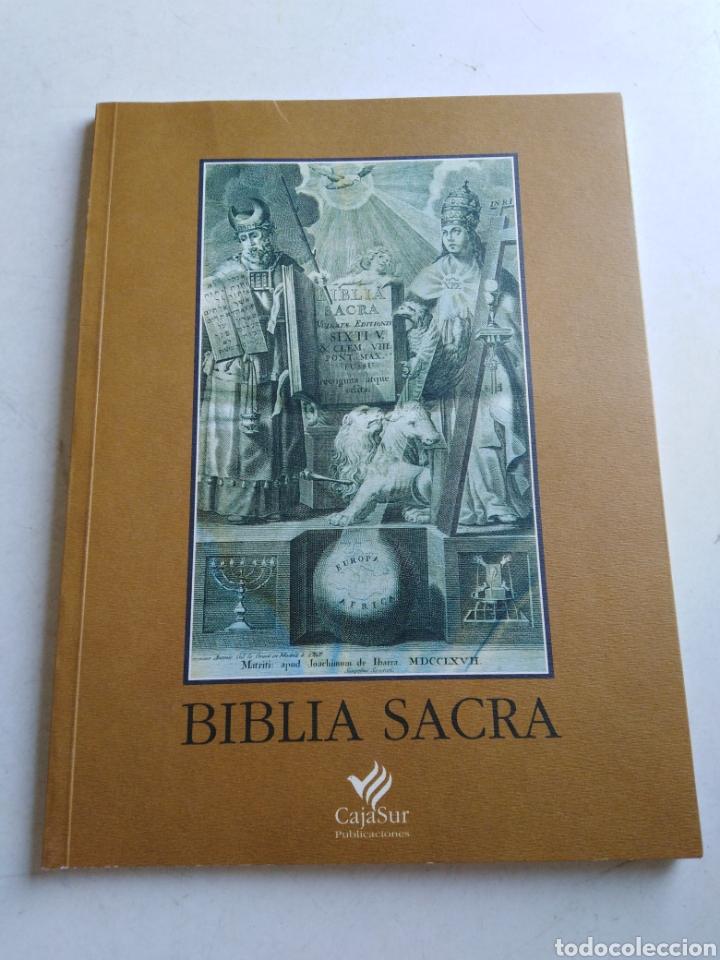 BIBLIA SACRA ( CAJA SUR PUBLICACIONES ) (Libros Nuevos - Humanidades - Religión)