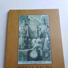 Libros: BIBLIA SACRA ( CAJA SUR PUBLICACIONES ). Lote 212082927