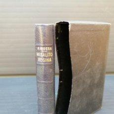 Libros: LIBRO RELIGIOSO MISALITO REGINA - P. RIBERA. Lote 212700005