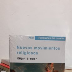 Livros: NUEVOS MOVIMIENTOS RELIGIOSOS-AKAL RELIGIONES DEL MUNDO. Lote 213216362
