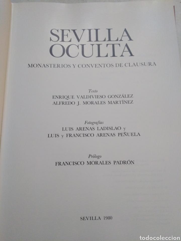 Libros: Sevilla oculta, monasterios y conventos de clausura - Foto 4 - 222263583